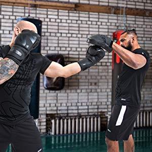 Fokus-Pads Hand Mitts Muay Thai Kick Boxing Stanzen Pads Trainings Jab Mitt
