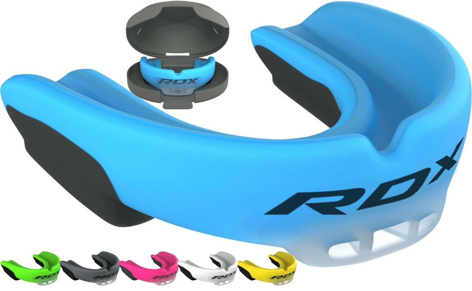 KICCOLY Mouth Guard//Gum Shield Karate Martial Arts and All Contact Sports Muay Thai Hockey Judo MMA for Boxing Rugby