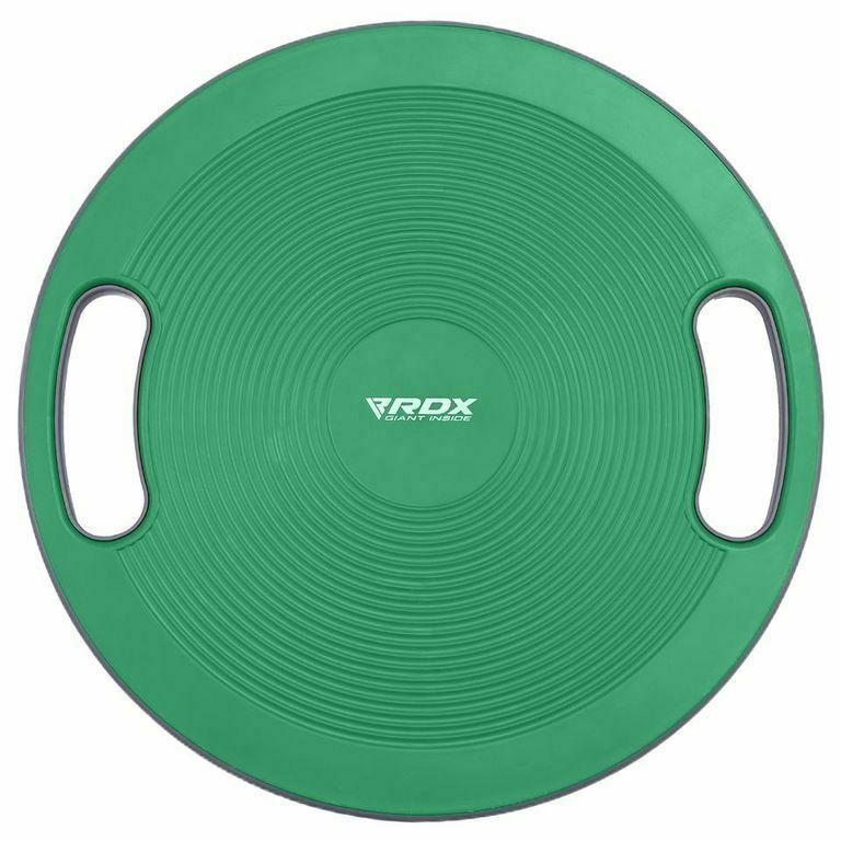 RDX Wobble Balance Board Grip Handles Grooved Anti Slip Rehabilitation Stability